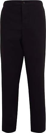 Wardrobe.NYC Wardrobe.nyc - Release 05 Wool-canvas Straight-leg Trousers - Mens - Black