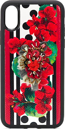 Dolce & Gabbana - Cover iPhone 7 stampa peonie - custodie e cover