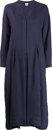 Aspesi long-sleeve flared dress - Azul