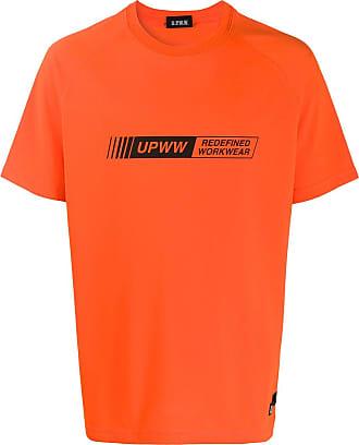 U.P.W.W. T-shirt con stampa - Di colore arancione