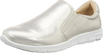Caprice Womens 24610 Loafers, White (Offwht Glitter 112), 5 UK