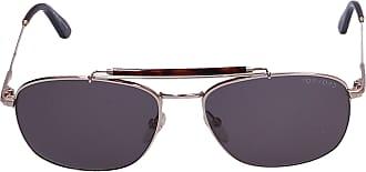 Tom Ford Sunglasses Aviator 339 Acetate Metal brown gold