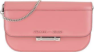 49dadc8c727c Prada Chain Bag Leather Begonia Umhängetasche rosa