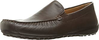 Geox Mens Msnakemoc2fit3 Slip-On Loafer, Dark Brown, 43 EU/10 M US