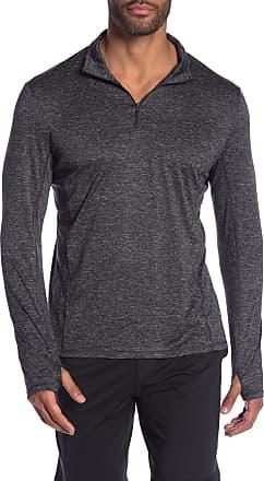 Zella Melange Strip Pullover