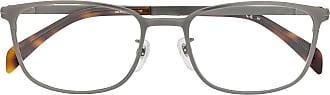 David Beckham Armação de óculos retangular DB 7016 - Prateado