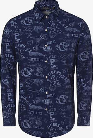 Polo Ralph Lauren Herren Hemd - Custom Fit blau