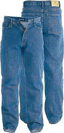 Duke London D555 Rockford Carlos Stretch Jeans Stonewash|48W32L Blue