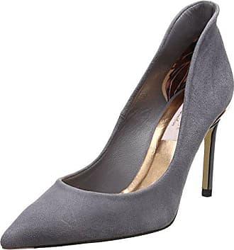 b21bdad9b13 Zapatos De Salón Gris  Compra hasta −58%