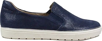 Caprice Womens Manou Loafer, Blue Blue Jeans Sue 802, 4 UK