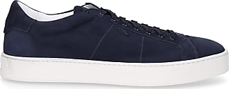 Santoni Flat Shoes Blue 21012