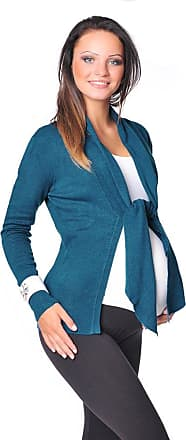 Purpless Maternity New Lovely Soft Tie Front Style Maternity Cardigan Bolero Shrug 9015 Variety of Colours (12/14, Teal)