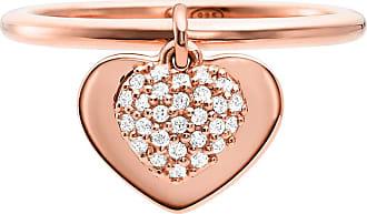 Michael Kors MKC1121AN791 Love Heart Duo Ring Roségold