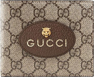 Gucci Carteira Neo Vintage GG Supreme - Marrom