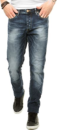 Jack & Jones Calça Jeans Jack & Jones Estonada Slim Azul
