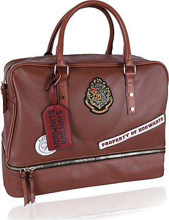 Harry Potter Brown, Faux Leather, Travel Bag Platform 9 3/4 HOGWARTS HARRY POTTER