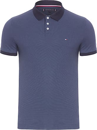 Tommy Hilfiger POLO MASCULINA TH FLEX - AZUL