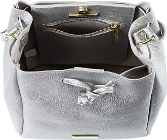 Katie Loxton Metallic Chloe Bucket Bag, Silver, One