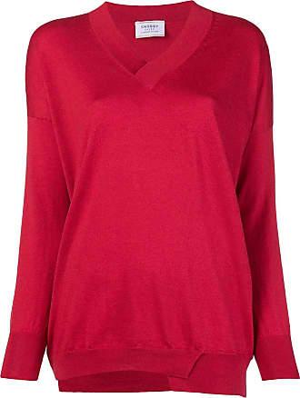 Snobby Sheep Suéter em cashmere e seda - Vermelho