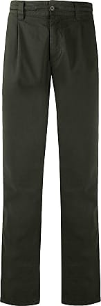 Aspesi mid-rise straight-leg trousers - Verde