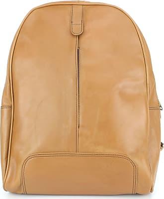 Loud Elephant Real Leather Backpack Rucksack Bag - Tan