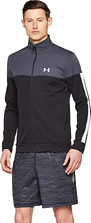 Under Armour Mens Sportstyle Pique Jacke Jacket, Stealth Gray (008)/White, XXX-Large