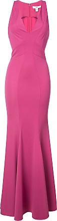 Zac Posen Vestido longo Serena - Rosa