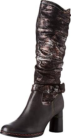 Laura Vita Womens Gucstoo 03 High Boots, (Noir Noir), 6 UK