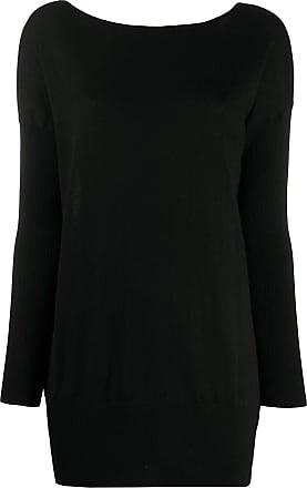 Snobby Sheep Blusa longa de tricô - Preto