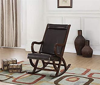 ACME ACME Furniture 59535 Triton Rocking Chair Espresso PU and Walnut