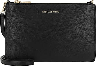 Michael Kors Cross Body Bags - Large Double Pouchette Crossbody Bag Black - black - Cross Body Bags for ladies