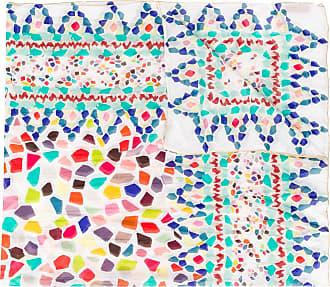 Missoni Echarpe com estampa geométrica - Azul