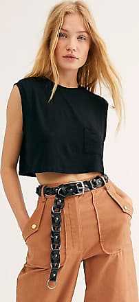 Free People Jackie Leather Chain Belt by Free People