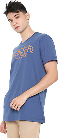 Von Dutch Camiseta Von Dutch Riders Since Azul