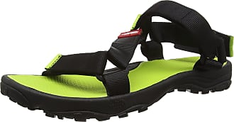 The North Face The North Face Mens Litewave Ankle Strap Sandals, Multicolor (TNF Black/Macaw Green_Eww), 11 UK