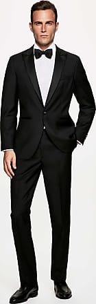 Hackett Mens Regular Fit Peak Lapel Dinner Jacket | Size 36Regular | Black