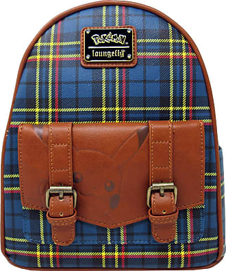 Loungefly x Pikachu Tartan Plaid Mini Backpack (One Size, Multicolored)