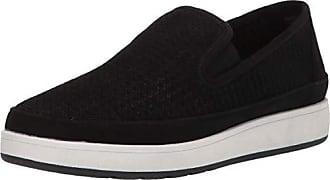 Donald J Pliner Womens Maddox-KS Sneaker Black 10 B US