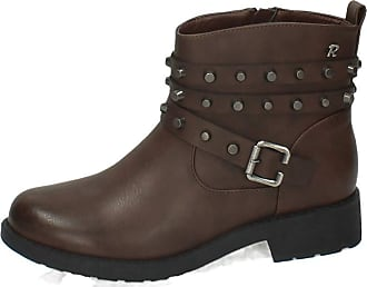 Refresh 64724 Heavy Duty Ankle Boots Woman Ankle Boots Brown Size: 6 UK