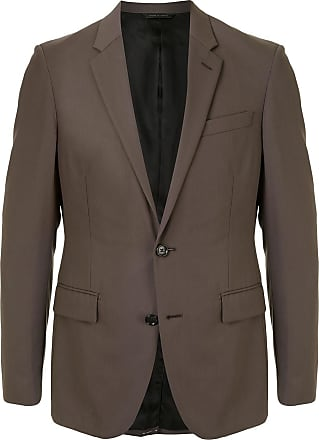 Durban single-breasted blazer - Brown
