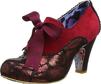 Irregular Choice Womens Summer Berries Closed Toe Heels, Red (Red Multi Atomic), 3.5 UK (36 EU)
