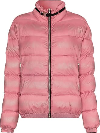 Alyx buckle embellished feather down padded jacket - Pink