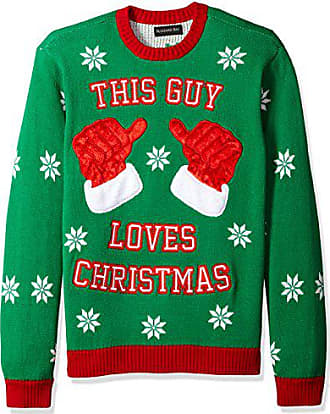 91a97b347 Blizzard Bay Mens This Guy Loves Xmas Ugly Christmas Sweater, X-Large