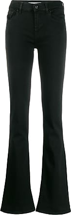 7 For All Mankind flared jeans - Preto
