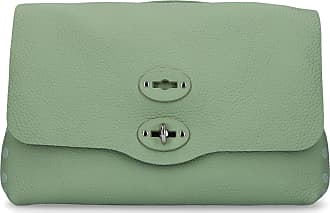 Zanellato Handbag POSTINA leather logo green
