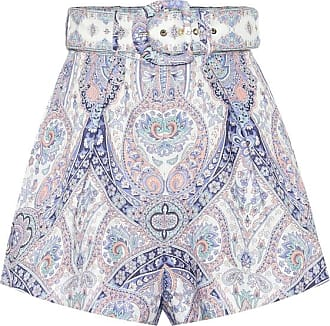 Zimmermann Exclusive to Mytheresa - Paisley linen shorts