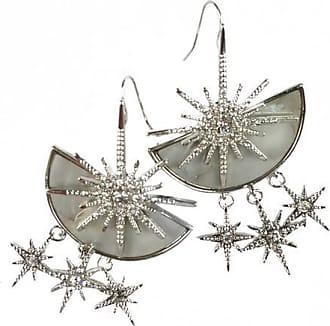 Fabulina Designs Cardi Earrings - Silver
