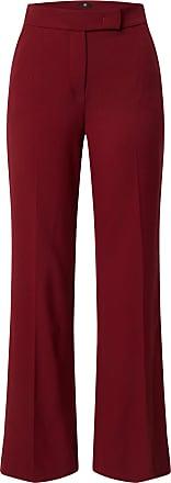 Riani Pantalon à plis rouge carmin