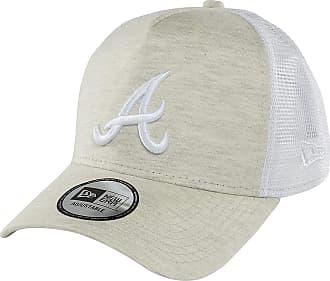 New Era Men Caps/Trucker Cap Essential Jersey Atlanta Braves Beige Adjustable