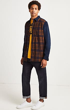 French Connection Overdyed Corduroy Mix Shirt